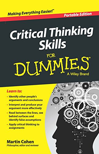 9788126554461: CRITICAL THINKING SKILLS FOR DUMMIES