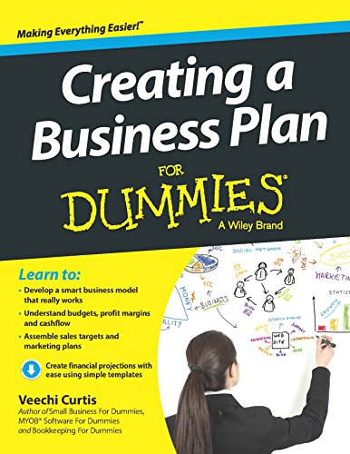 9788126554485: Creating A Business Plan For Dummies