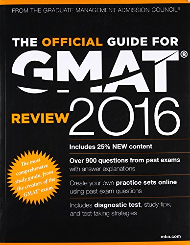 9788126554614: The Official Guide for GMAT Review 2016 with Online Question Bank and Exclusive Video