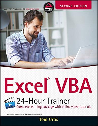 9788126555475: Excel VBA 24-Hour Trainer, 2ed