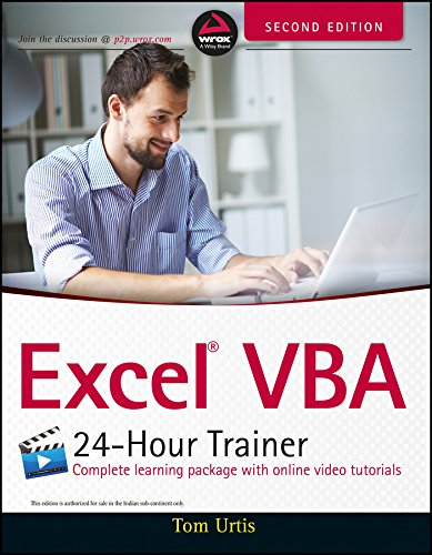 9788126555475: Excel VBA 24-Hour Trainer, 2ed