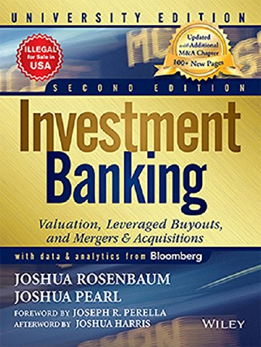 9788126555734: Investment Banking: Valuation, Leveraged Buyouts and Mergers & Acquisitions