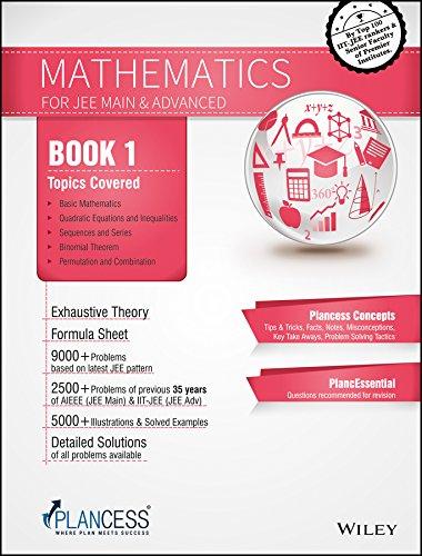 Plancess Study Material Mathematics for JEE, (Set of 5 Books): Plancess