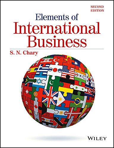 9788126555789: Elements Of International Business