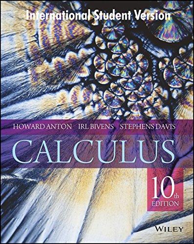 9788126556403: Calculus, 10Th Edn, Isv