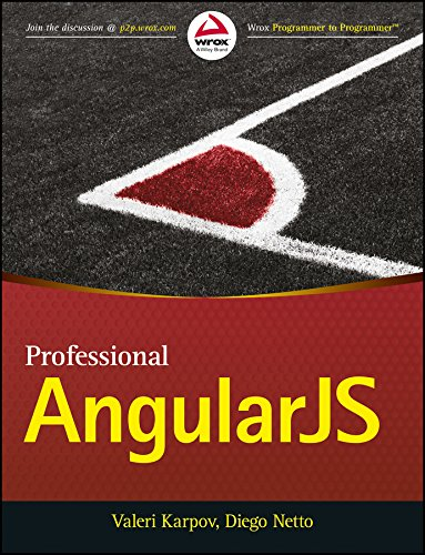 9788126556434: Professional AngularJS