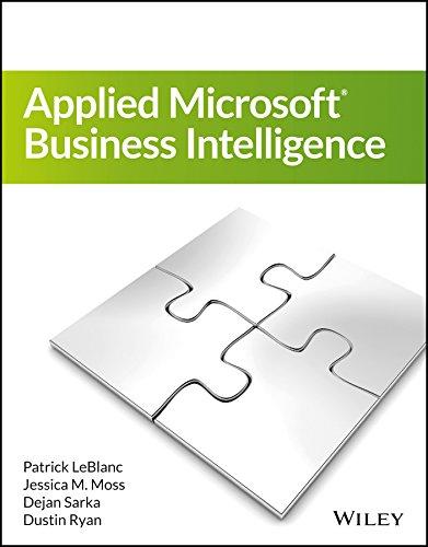 9788126556656: Applied Microsoft Business Intelligence