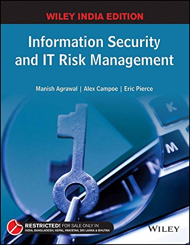 Information Security and IT Risk Management: MANISH AGRAWAL, ALEX