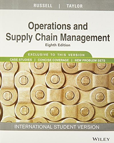 9788126556823: Operations and Supply Chain Management, Isv