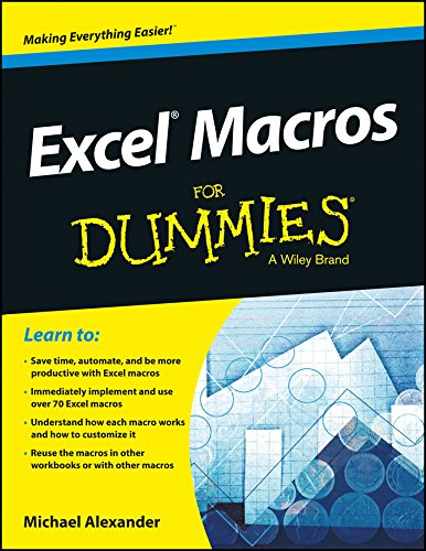 EXCEL MACROS FOR DUMMIES: MICHAEL ALEXANDER