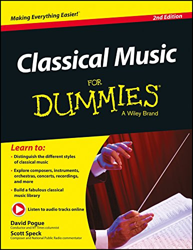 CLASSICAL MUSIC FOR DUMMIES, 2ND ED: DAVID POGUE, SCOTT SPECK