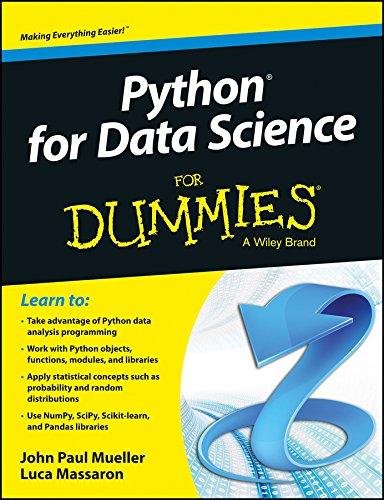 Python for Data Science for Dummies: John Paul Mueller,Luca Massaron