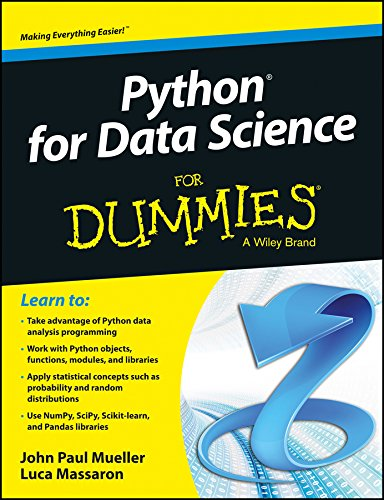 9788126557394: Python For Data Science For Dummies