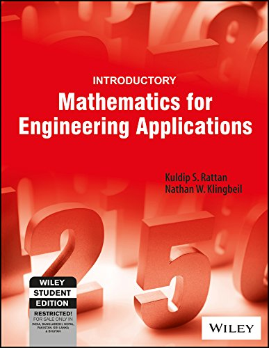 9788126557479: Introductory Mathematics for Engineering Applications