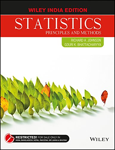 STATISTICS: RICHARD A. JOHNSON, GOURI K. BHATTACHARYYA