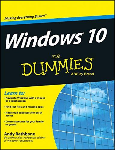 9788126557929: Windows 10 For Dummies
