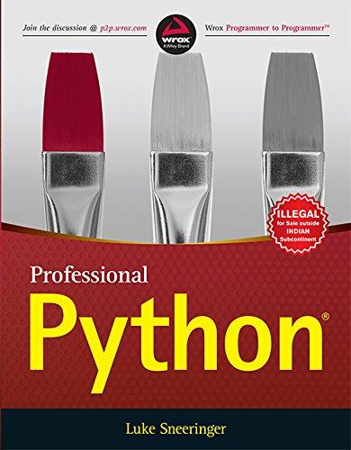 9788126558957: Professional Python