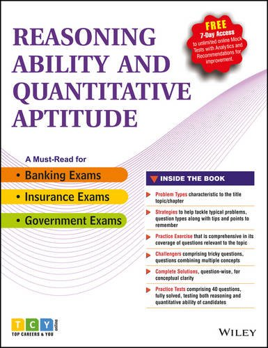 Wiley?s Reasoning Ability and Quantitative Aptitude: TCYonline
