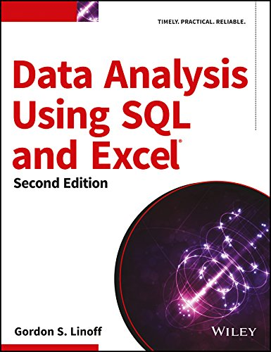 9788126559480: Data Analysis Using Sql And Excel, 2Ed
