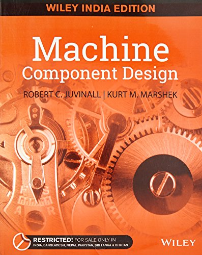 9788126559732: Machine Component Design (Indian Edition)
