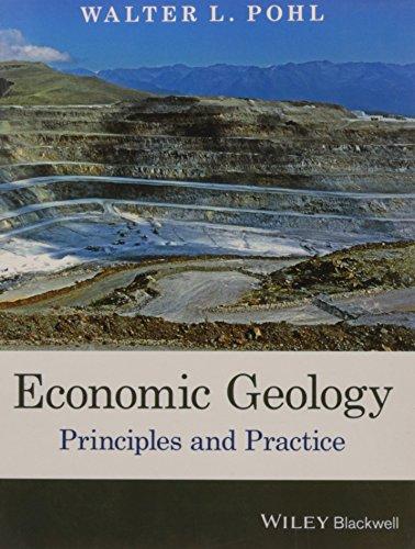 Economic Geology Principles And Practice (Pb 2016): Pohl W.L.