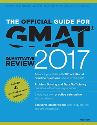9788126560400: The Official Guide for GMAT Quantitative Review 2017 with Online Question Bank and Exclusive Video