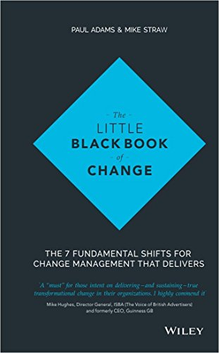 9788126560523: The Little Black Book Of Change: The 7 Fundamental Shifts For Change Management That Delivers