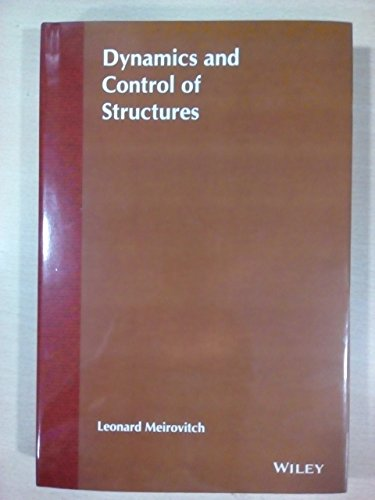 9788126561674: Dynamics And Control Of Structures