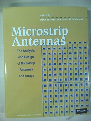9788126561735: Microstrip Antennas The Analysis And Design Of Microstrip Antennas And Arrays