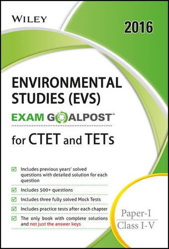 Wiley's Environmental Studies (Evs), Exam Goalpost, For: Dt Editorial Services