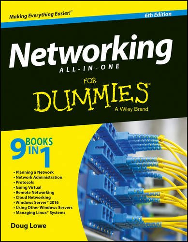 9788126562077: Networking All-in-One for Dummies