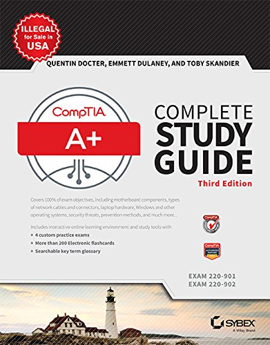 9788126562701: Comptia A+ Complete Study Guide: Exams 220-901 and 220-902