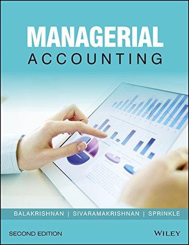 9788126562886: Managerial Accounting, 2Ed