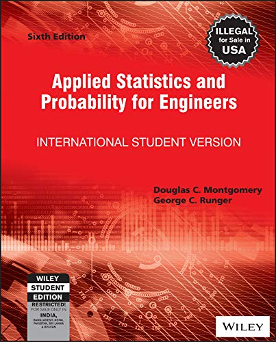 9788126562947: Applied Statistics and Probability for Engineers, Isv