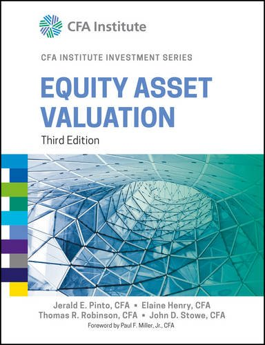 9788126563111: Equity Asset Valuation