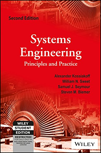 9788126563784: Systems Engineering Principles And Practice, 2Ed
