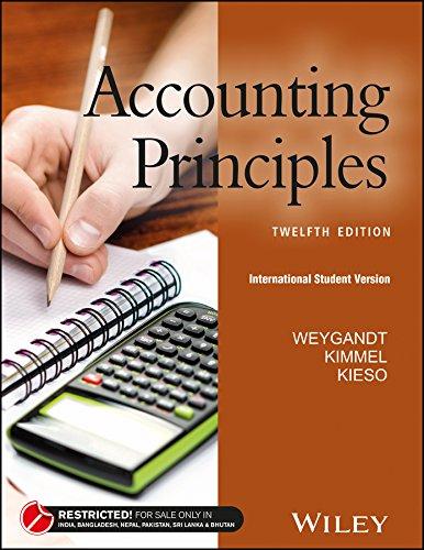 9788126564347: Accounting Principles (12th Edition)