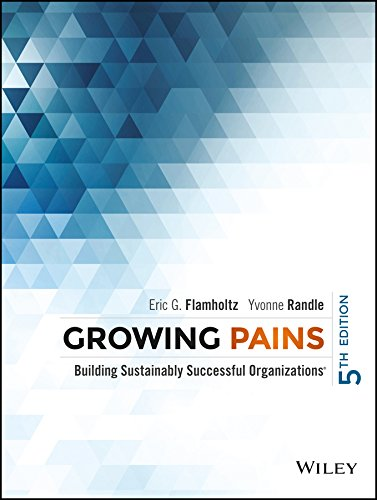 9788126564828: Growing Pains, 5Ed: Building Sustainably Successful Organizations
