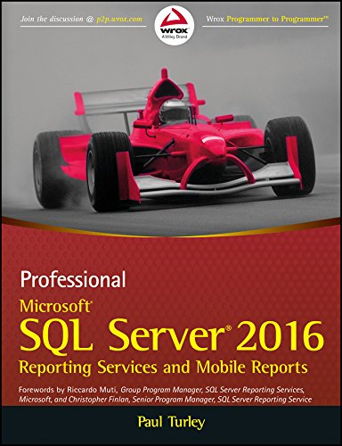 9788126567348: Professional Microsoft Sql Server 2016 Reporting Services And Mobile Reports
