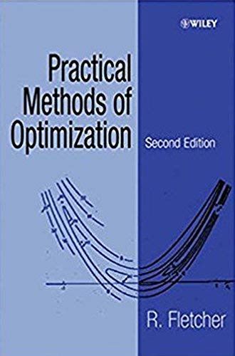 9788126567904: Practical Methods Of Optimization 2Nd Edition