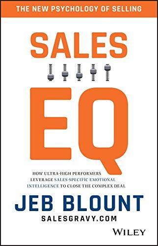 9788126568086: Sales EQ [Hardcover] [Jan 01, 2017] Jeb Blount [Hardcover] [Jan 01, 2017] Jeb Blount