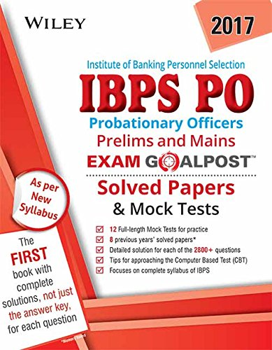 Wiley's Institute of Banking Personnel Selection Probationary