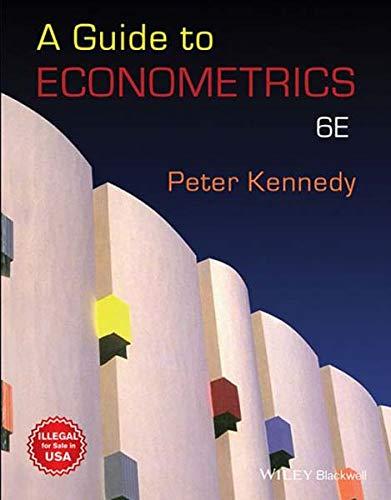 9788126574810: Guide To Econometrics 6Th Edition