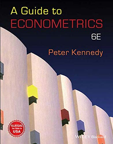 9788126574810: Guide To Econometrics 6Th Edition
