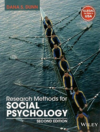 9788126574865: Research Methods For Social Psychology 2Nd Edition