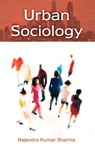 Urban Sociology: N. Jayapalan