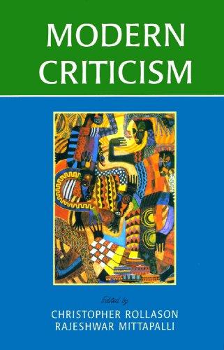 Modern Criticism: Christopher Rollason & Rajeshwar Mittapalli (eds)