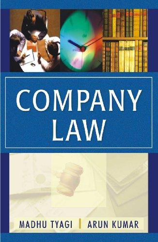 Company Law: Madhu Tyagi