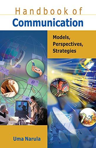 9788126905133: Handbook of Communication: Models, Perspectives, Strategies