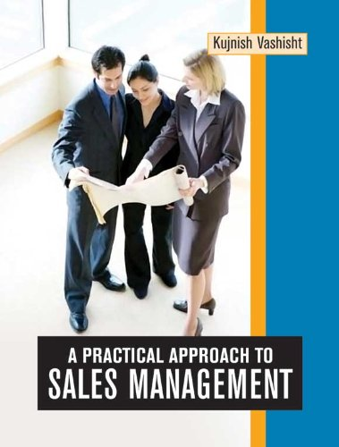 9788126906147: A Practical Approach to Sales Management